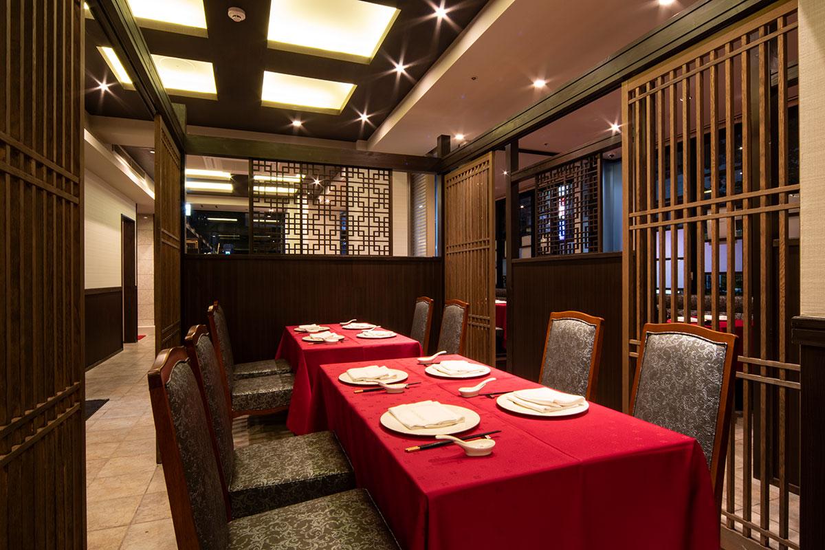 老上海 福岡天神店 テーブル席-1